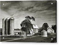 Amish Farmstead II Acrylic Print by Steven Ainsworth