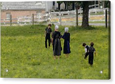 Acrylic Print featuring the photograph Amish Life by Raymond Earley