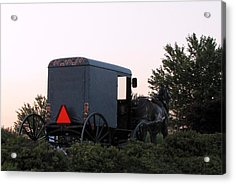 Amish Parking Acrylic Print