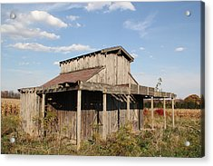 Amish Shed #3 Acrylic Print by Donna Bosela