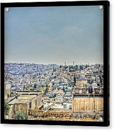 Amman Down Town, #downtown #city Acrylic Print