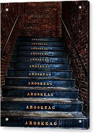 Amoskeag Acrylic Print by John Sotiriou