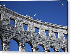 Ampitheater In Rovinj Acrylic Print