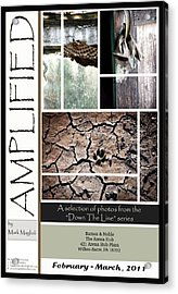 Amplified Poster Acrylic Print by Maglioli Studios