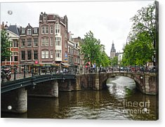 Amsterdam Bridge - 02 Acrylic Print by Gregory Dyer