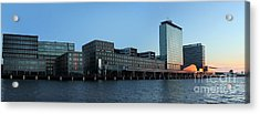 Amsterdam - In The Bay- 02 Acrylic Print by Gregory Dyer