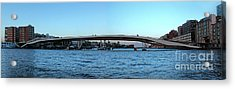 Amsterdam - In The Bay- 03 Acrylic Print by Gregory Dyer