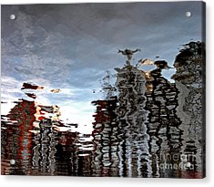 Amsterdam Reflections Acrylic Print by Andy Prendy