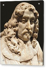 Amsterdam Rijksmuseum Classic Bust - 03 Acrylic Print by Gregory Dyer