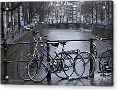 Amsterdam The Netherlands Acrylic Print by Bob Christopher