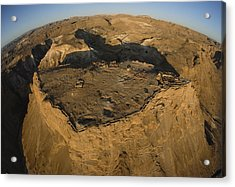 An Aerial View Of The Ancient Jewish Acrylic Print
