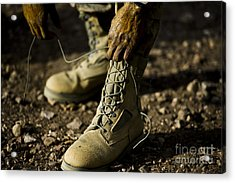 An Air Force Basic Military Training Acrylic Print by Stocktrek Images