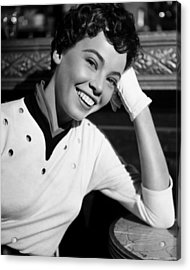 An American In Paris, Leslie Caron, 1951 Acrylic Print by Everett