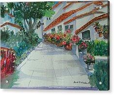 An Andalucian Street Acrylic Print