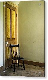 Acrylic Print featuring the photograph An Austere Life by Chuck De La Rosa