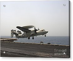 An E-2c Hawkeye Takes Acrylic Print by Stocktrek Images