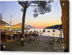 An Evening In Rovinj - Croatia Acrylic Print