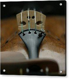 An Expensive #strad Violin Acrylic Print