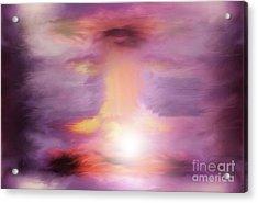 An Explosive Moment Acrylic Print by John Krakora