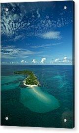 An Island In The Quirimbas Archipelago Acrylic Print by Jad Davenport
