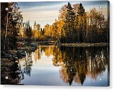 An Island Acrylic Print by Matti Ollikainen