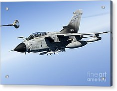 An Italian Air Force Tornado Ids Acrylic Print by Gert Kromhout