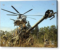 An Mh-53e Sea Stallion Helicopter Acrylic Print by Stocktrek Images