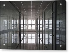 An Office Interior. Modern Acrylic Print by Guang Ho Zhu