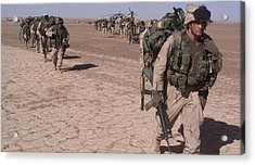 An Special Operations Infantry Company Acrylic Print by Everett