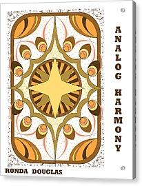 Analog Harmony Acrylic Print
