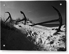 Anchor Beach 12 Acrylic Print by Jez C Self