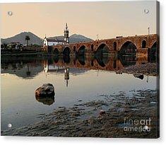 Ancient Bridge Acrylic Print by Carlos Caetano