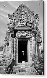 Ancient Castle At Thailand. Acrylic Print by Phalakon Jaisangat