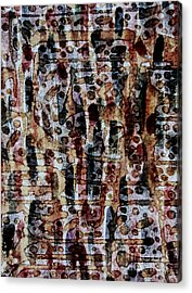 Ancient Etch Acrylic Print by TB Schenck