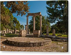 Ancient Olympia Greece Acrylic Print