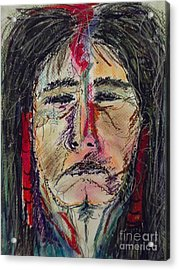 Ancient One Acrylic Print by Nashoba Szabol