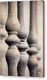 Ancient Spindles Acrylic Print by Terry Ellis