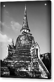 Ancient Tower Acrylic Print by Thanh Tran