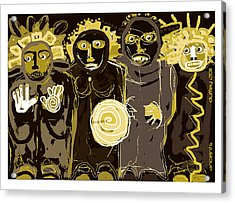 Ancients -duotone Acrylic Print