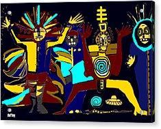 Ancients- Night Visit Acrylic Print