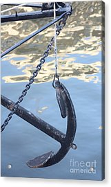 Acrylic Print featuring the photograph Ancorage by Rogerio Mariani