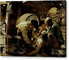 And They Still Say Fish Is Expensive Acrylic Print by Joaquin Sorolla y Bastida