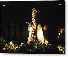 Andalusian Procession Acrylic Print by Perry Van Munster