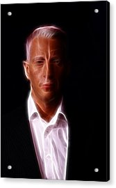 Anderson Cooper - Cnn - Anchor - News Acrylic Print by Lee Dos Santos