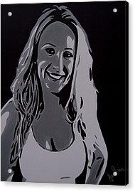 Andrea Acrylic Print by Ian  King