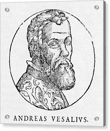 Andreas Vesalius, Dutch Anatomist Acrylic Print