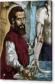 Andreas Vesalius, Flemish Anatomist Acrylic Print