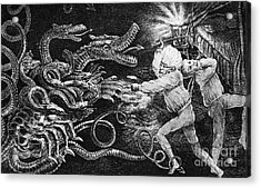 Andrew Jackson Cartoon Acrylic Print by Granger