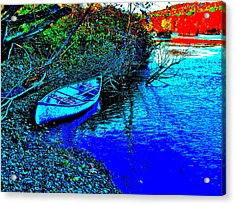 Andy River 17 Acrylic Print by George Ramos