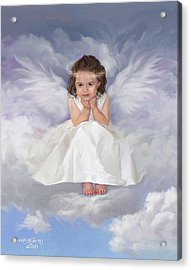 Angel 2 Acrylic Print by Rob Corsetti
